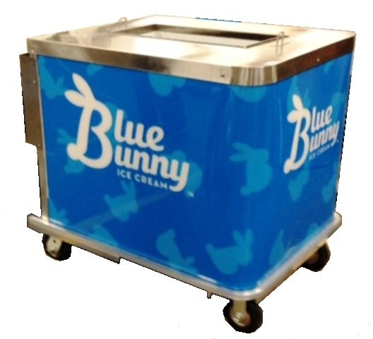 BDC6 Ice Cream Push Cart