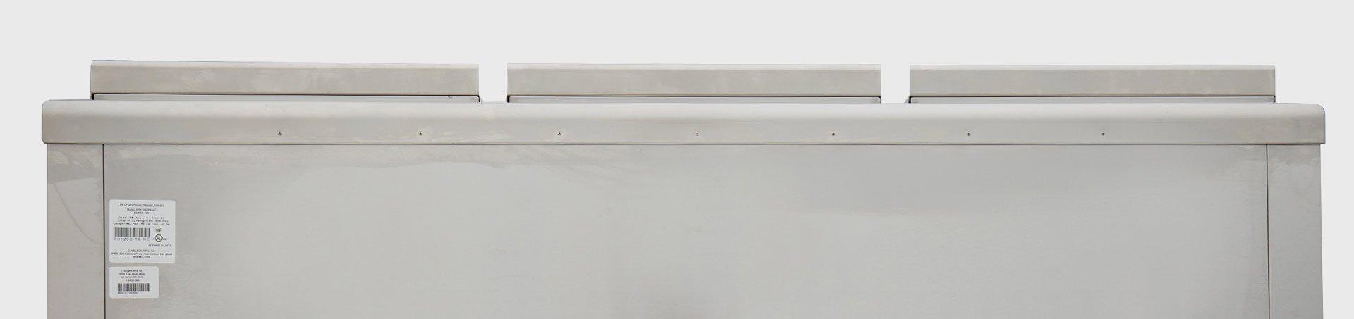 Chest Freezer Double Row