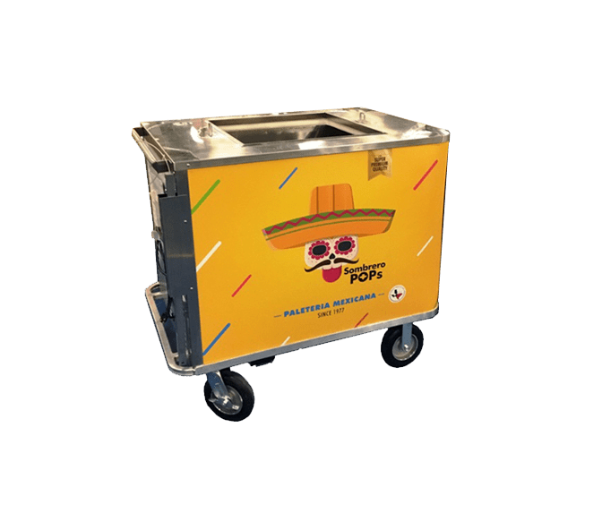 Cold Plate Mobile Carts