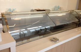 Dipping Cabinet - Curved Glass