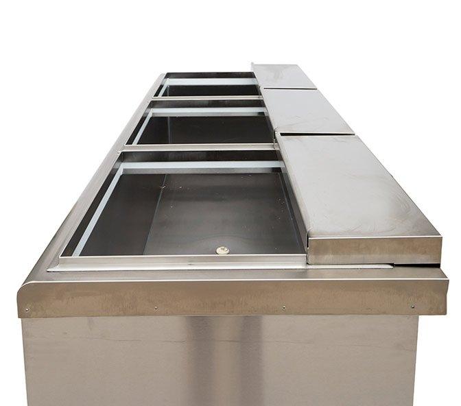 Chest Freezer - Double Row