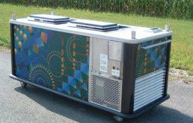 Large Ice Cream Pushcart